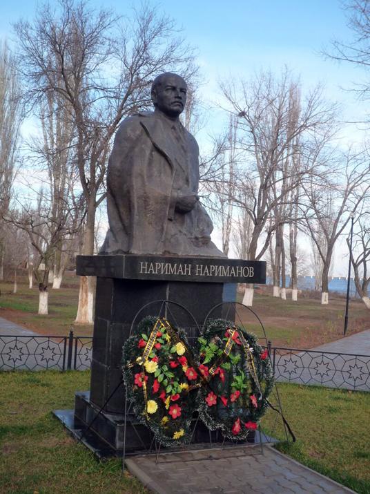 В Грузии восстановлен памятник Нариманову, передавшему 4 грузинских района Азербайджану