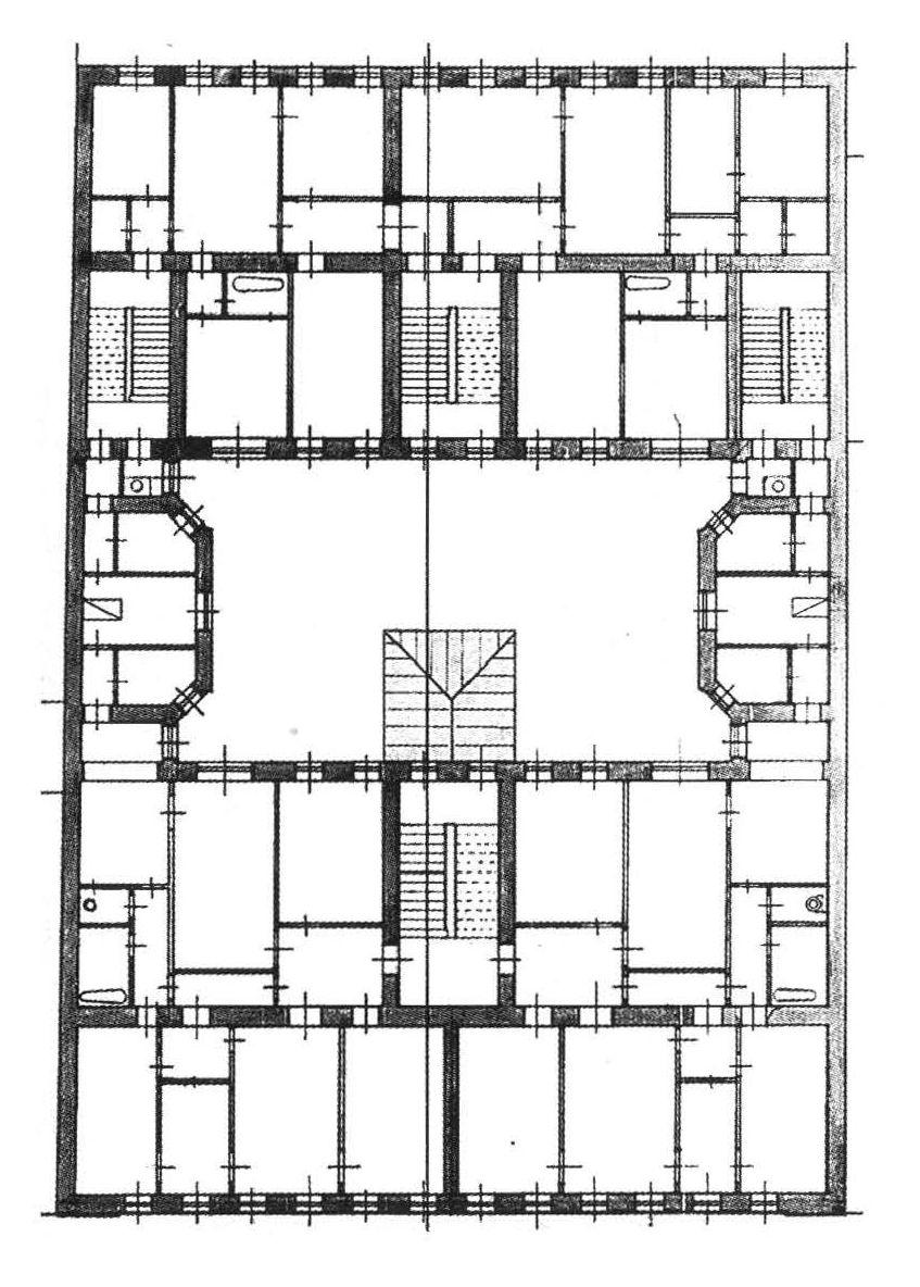 План типового этажа.1897