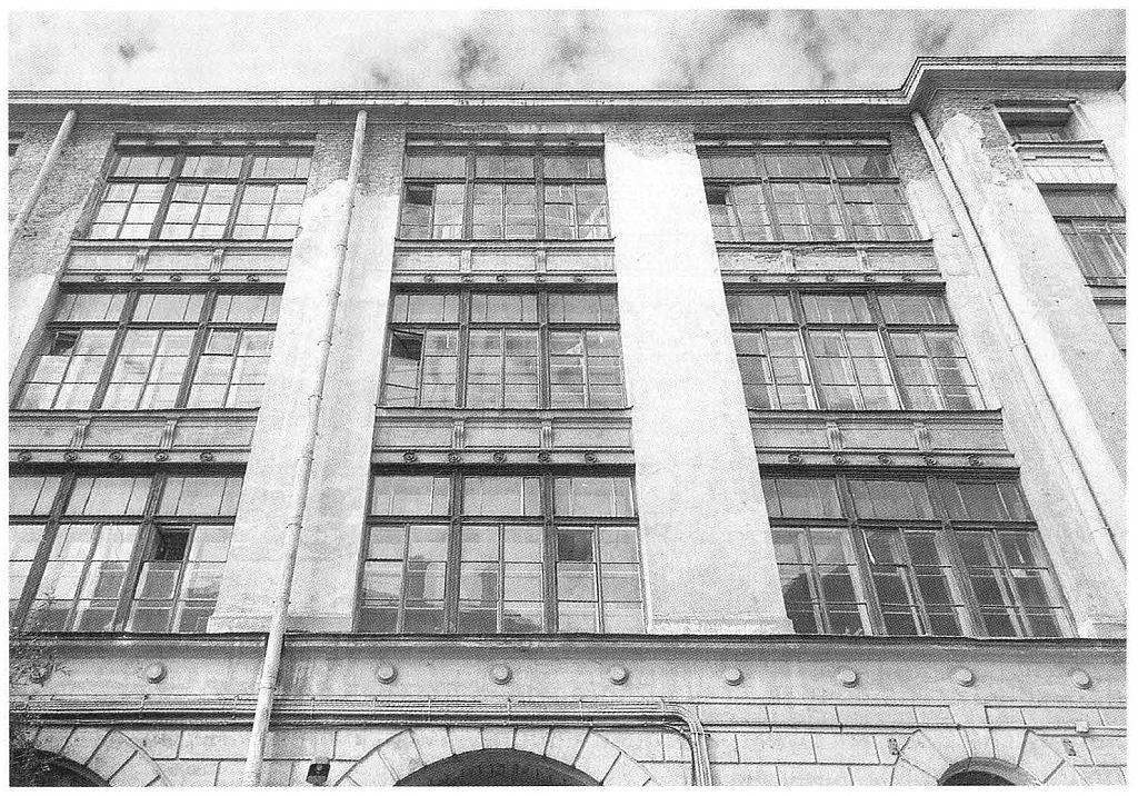 Тенишевское училище (1899-1900 годы), архитектор Рихард Берзен, Моховая улица, 33-35