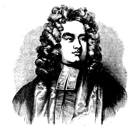 Портрет Джонатана Свифта в газете International Mag., 1850
