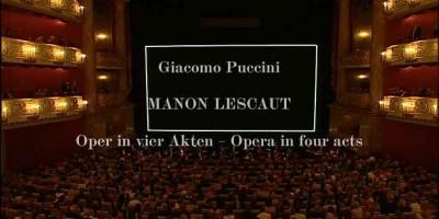 Джакомо Пуччини - Манон Леско / Giacomo Puccini - Manon Lescaut смотреть онлайн