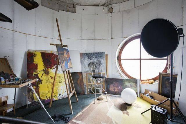 Мастерская художника Сёмкина