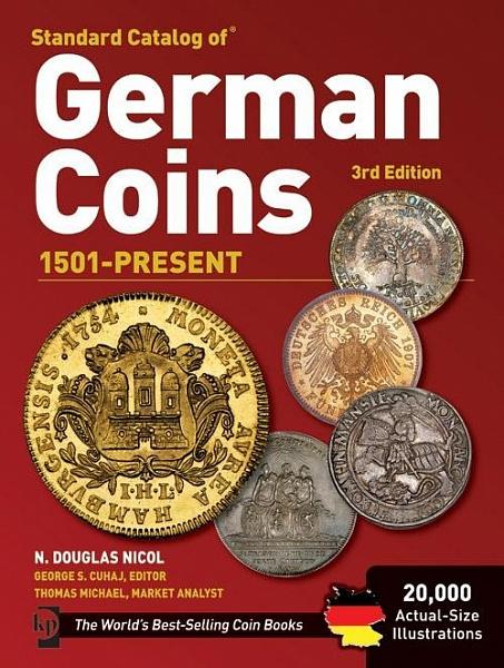 Стандартный каталог монет Германии с 1501 года по сегодняшний день. (Krause)